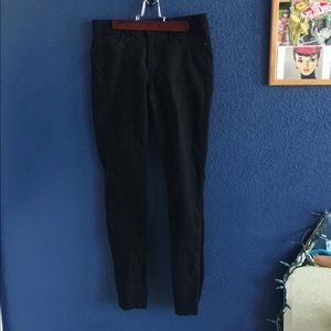 jessica simpson black super skinny jeans